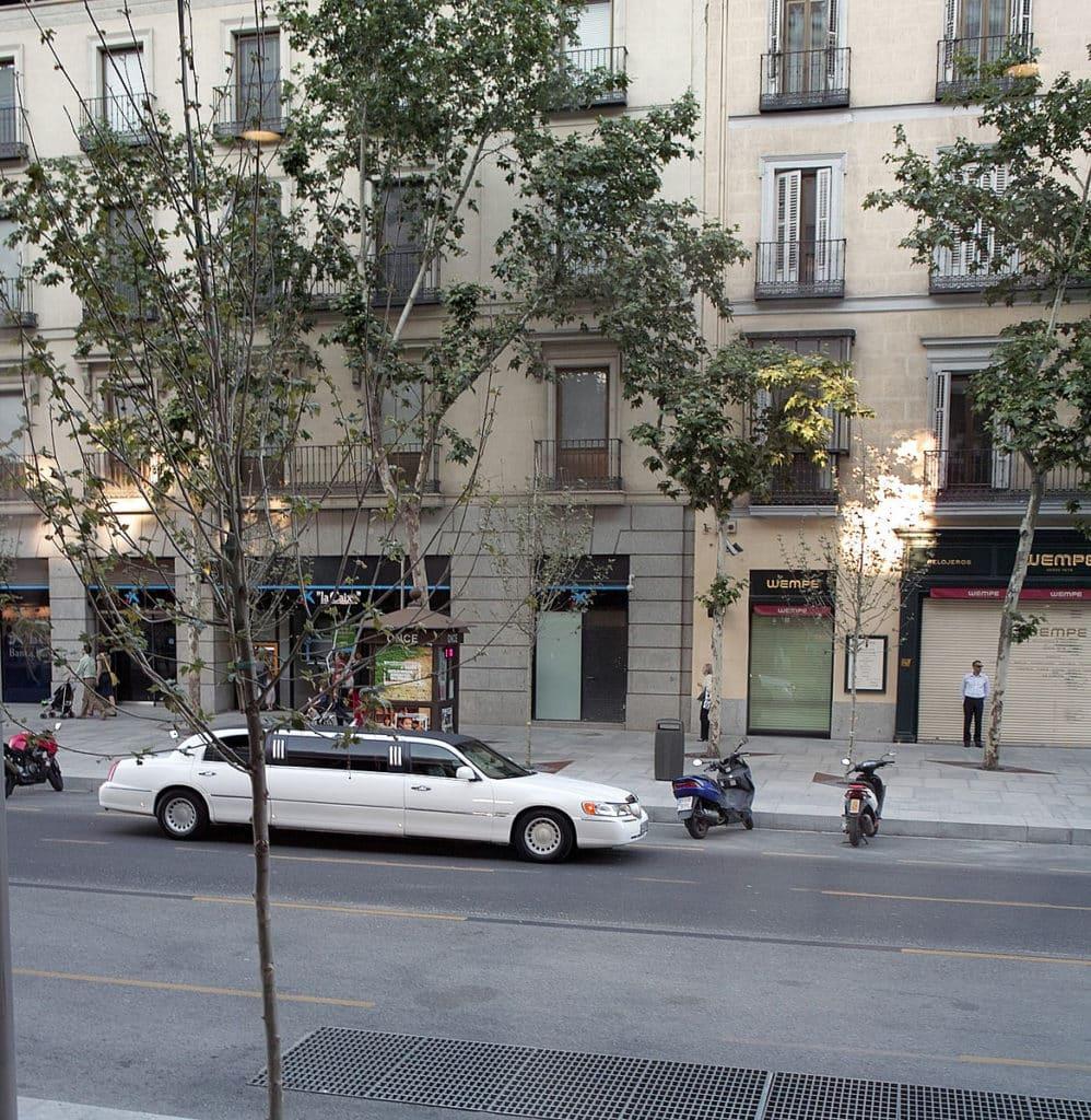 Limusina en la Calle Serrano