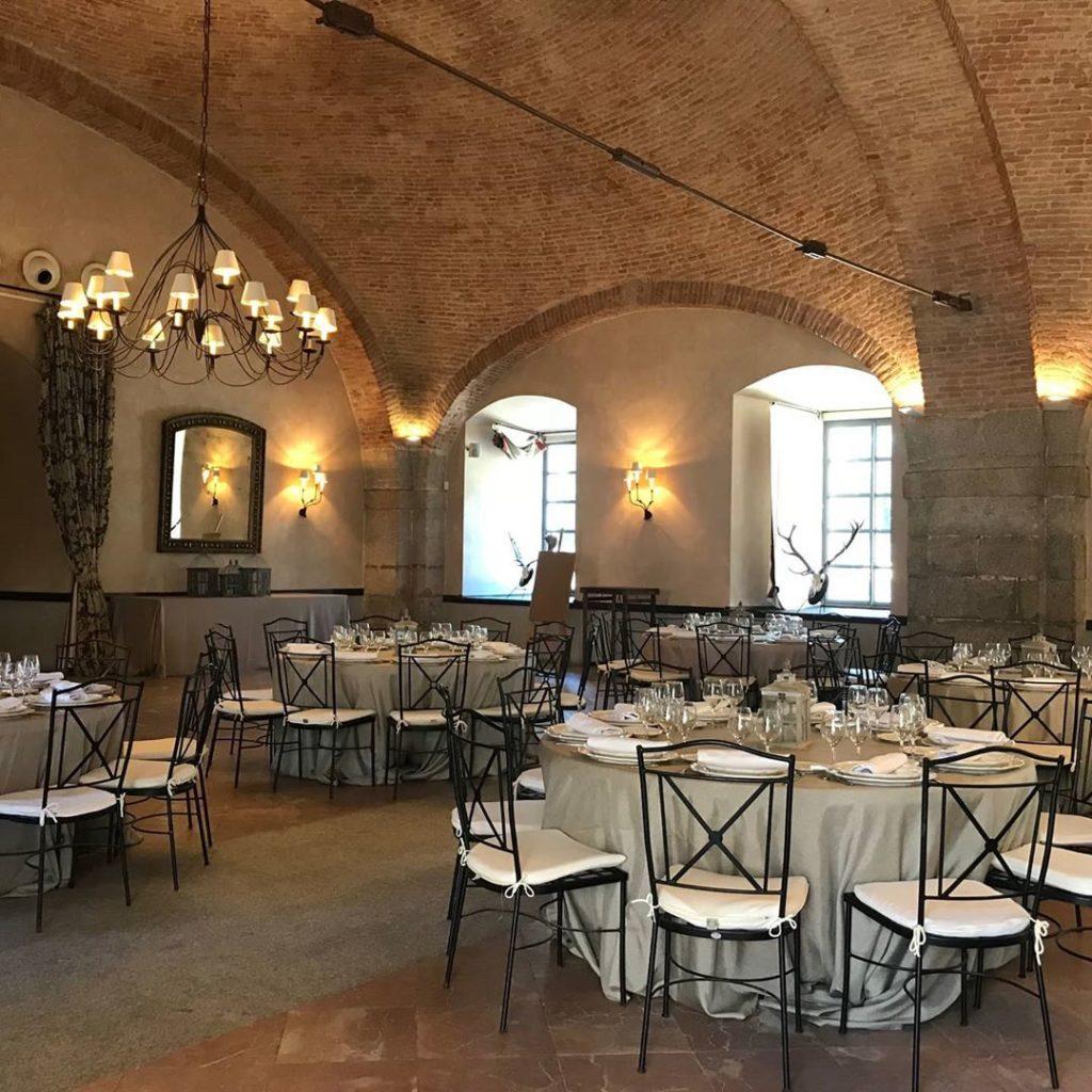 Salones del Palacio de Viñuelas