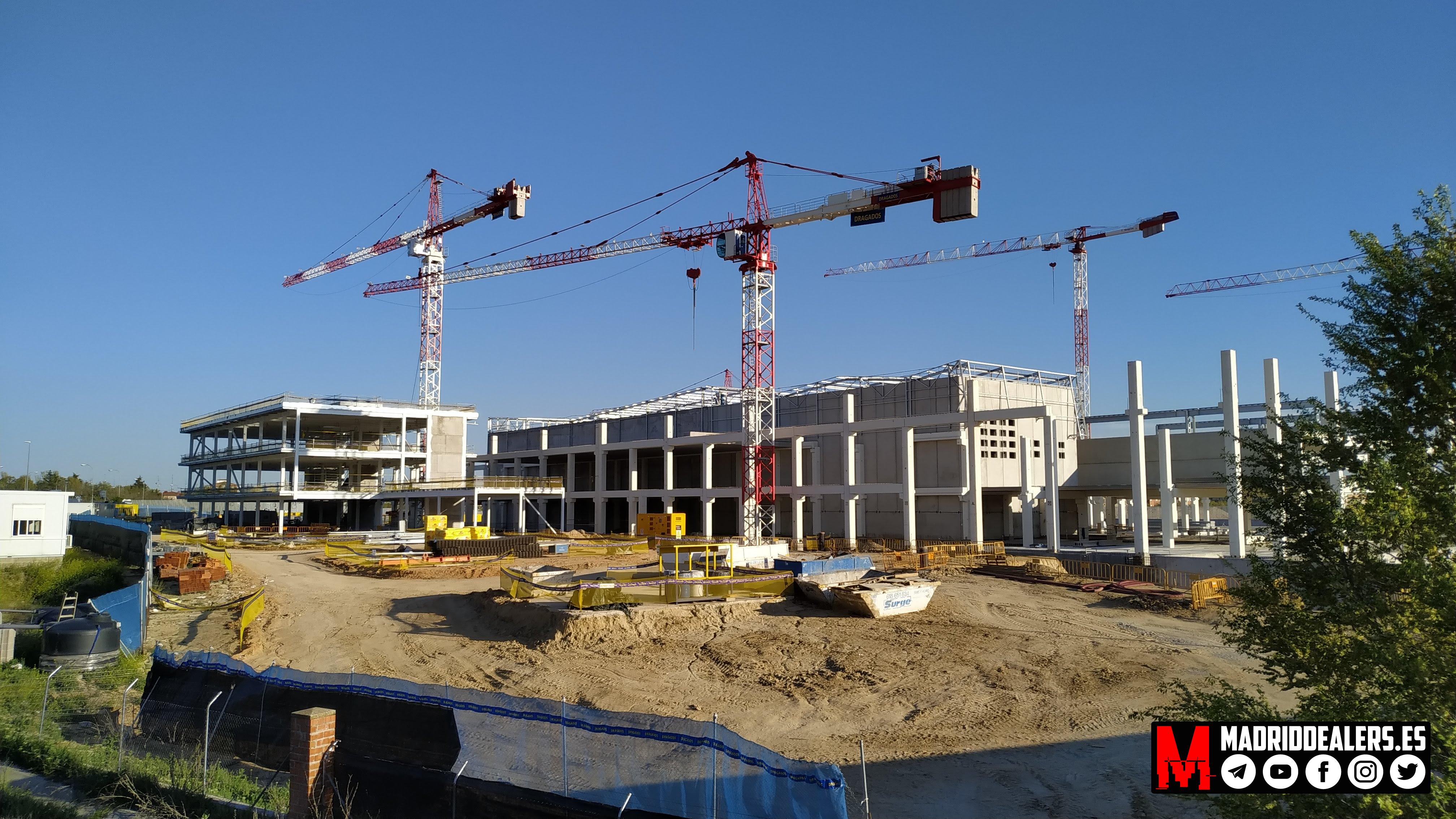 La nueva «Casa de Papel» (Vicálvaro, Madrid)