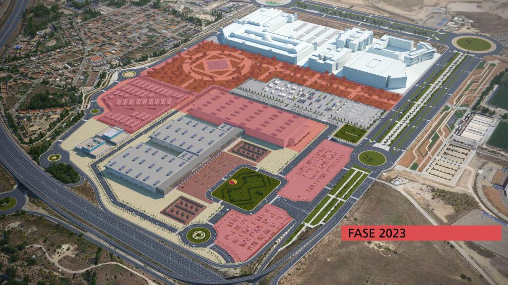 Fase 2023 de la ampliación de IFEMA