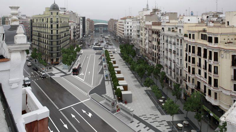 Reforma de la Avenida de Felipe II